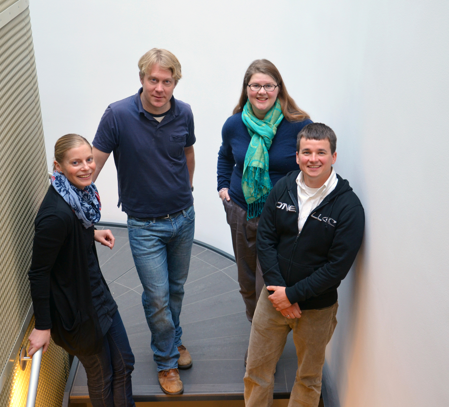 Leader Junior Research Groups: F. Flachsbarth, Arne Schäfer, Annegret Fischer, Ben Krause-Kyora