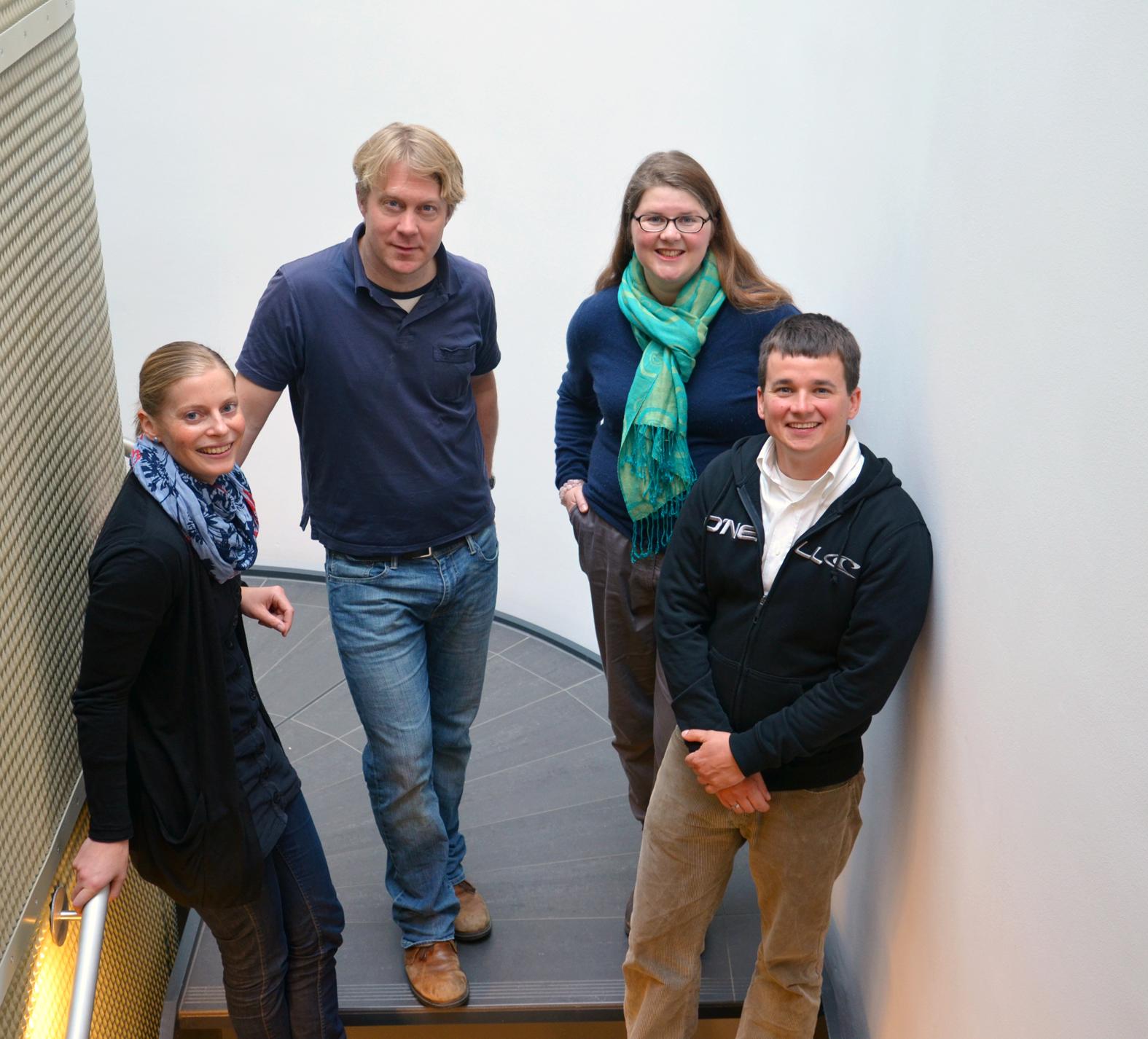 Leader Junior Research Groups: F. Flachsbarth, Arne Schäfer, Annegret Fischer, Ben Krause-Kyora