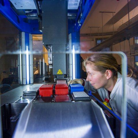 Roboter Sanger Laboratory