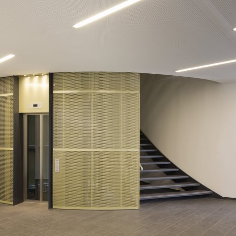 ZMB foyer,  HENN architects Munich, photo: H.G. Esch
