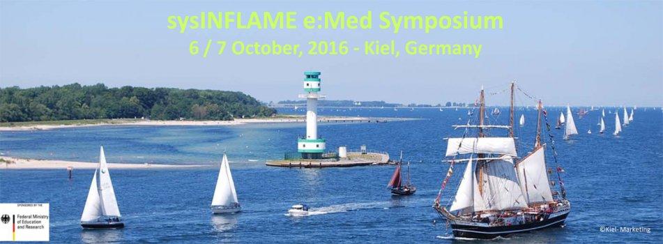 sysINFLAME e:Med Symposium 6 / 7 October, 2016 Kiel, Germany